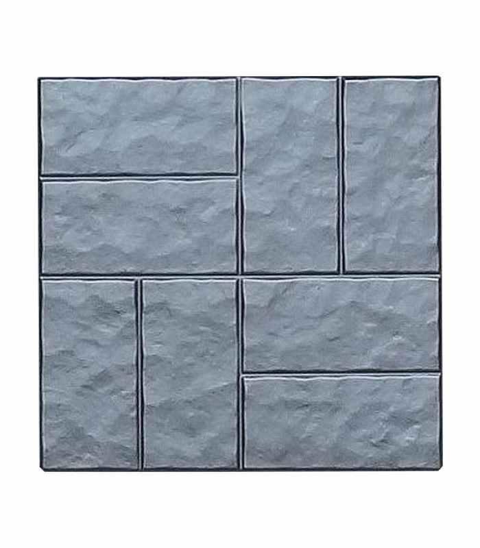 """Форма для тротуарной плитки """"Восемь колотых кирпичей"""" №5"""