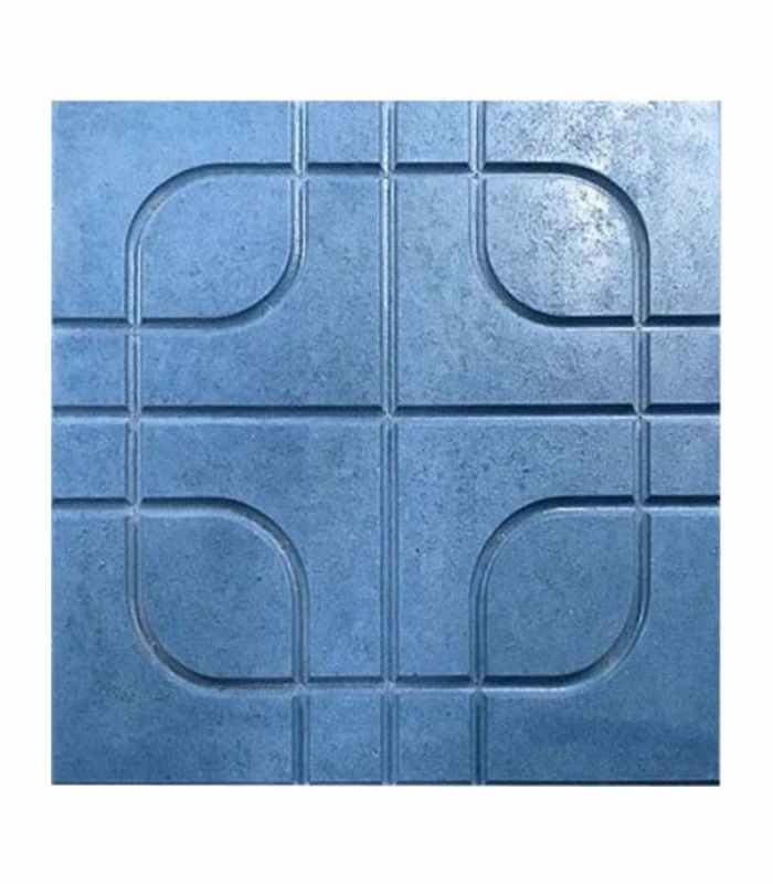 "Форма для тротуарной плитки ""Баррио"" №12 Размеры 400х400х40 мм"