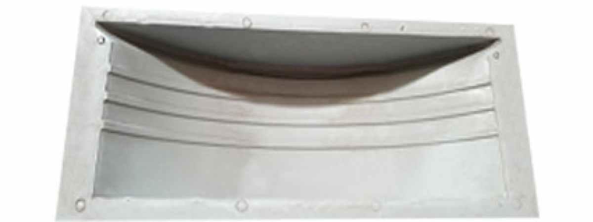 Форма для тротуарной плитки Подступенник поворотный №1 Размеры 250х170х50 мм