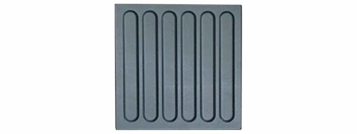 Форма для тротуарной плитки Тактильная №13 Размеры 300х300х30 мм