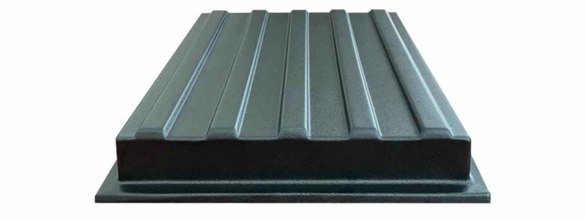 Форма для тротуарной плитки Тактильная №14 Размеры 300х300х40 мм
