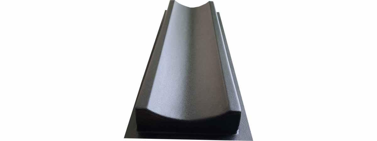 Форма для водостока Гладкий №1 Размеры 500х160х50 мм
