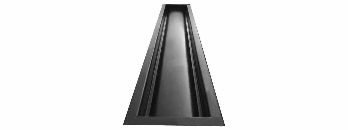 Форма для отлива водосток №3 Размеры 980х150х50 мм