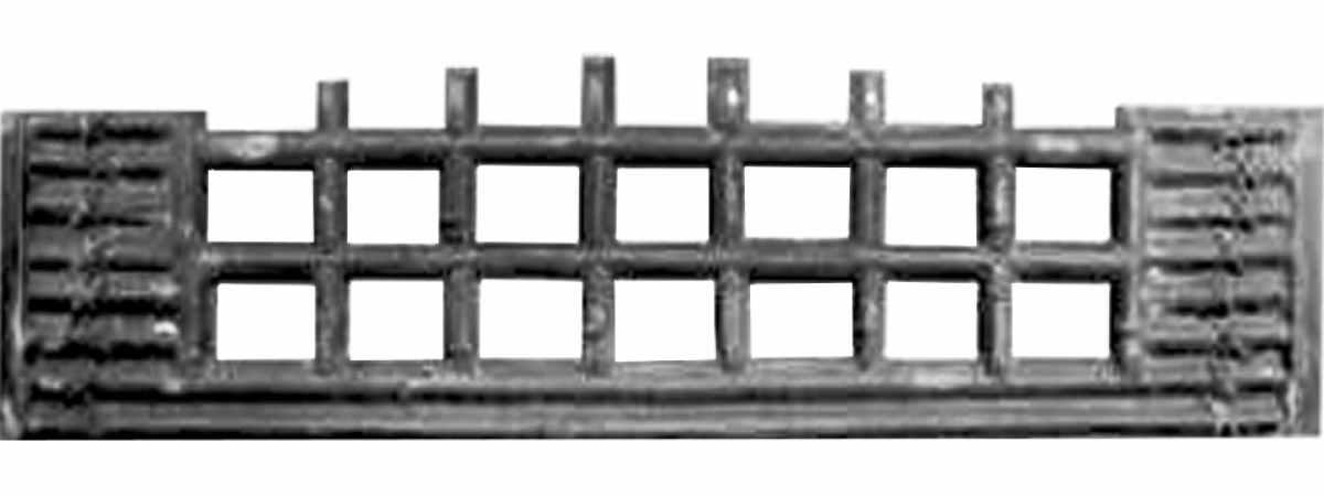 Форма забора АБС №72 Размеры 2000х500х40 мм