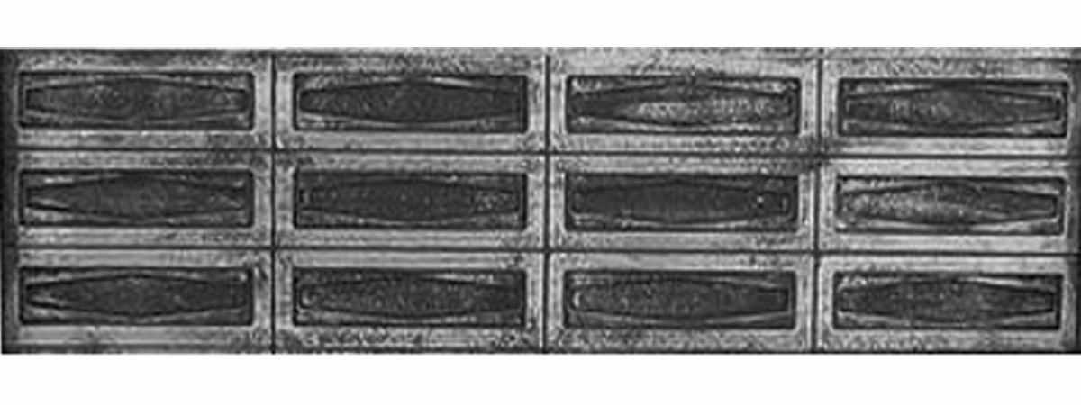 Форма забора АБС №81 Размеры 2000х500х40 мм