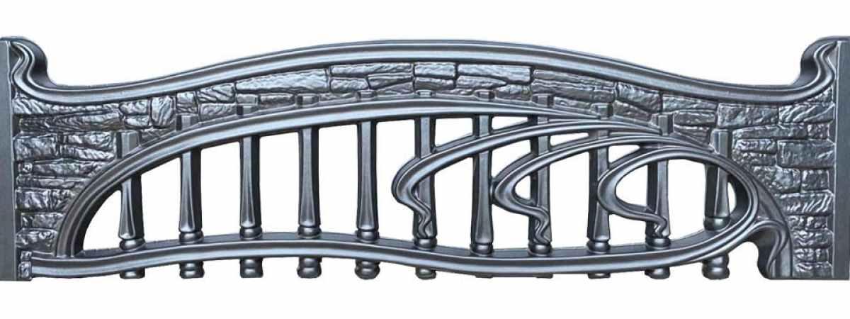 Форма для забора ПВХ №1 Размеры 2000х500х40 мм