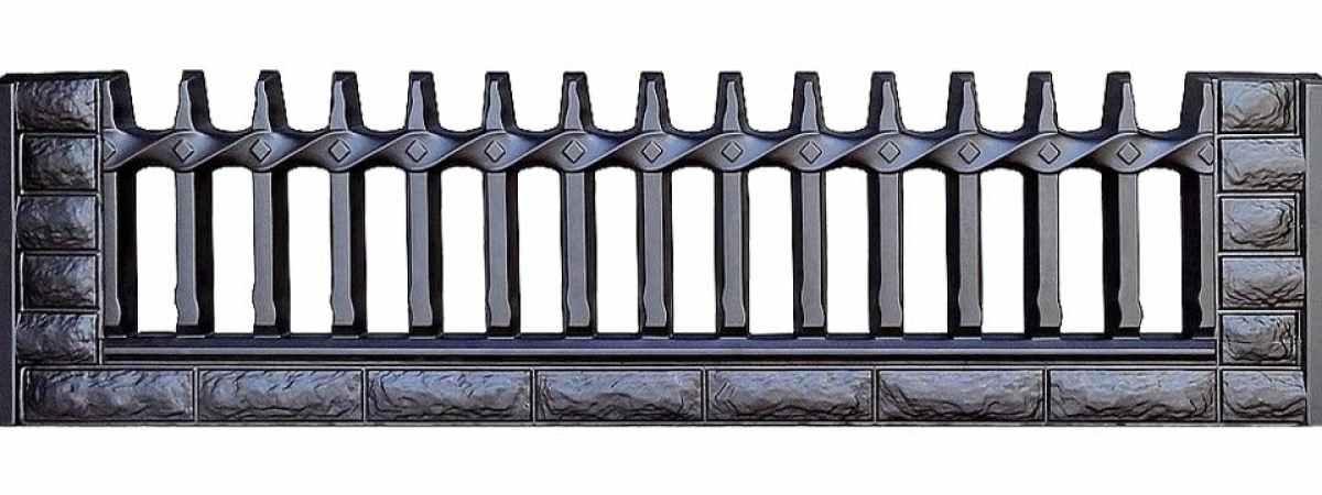 Форма для забора ПВХ №36 Размеры 2000х500х40 мм