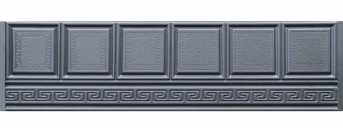 Форма для забора ПВХ №60 Размеры 2000х500х40 мм