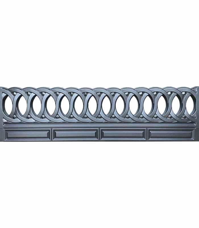 Форма для забора ПВХ №53 Размеры 2000х500х40 мм