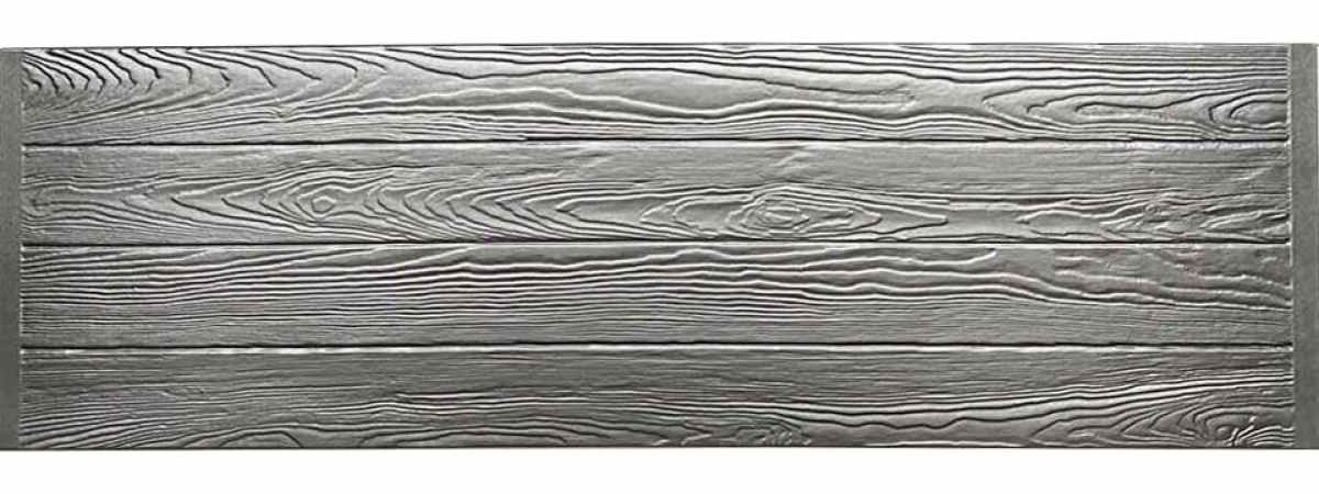 Форма для забора Калипсо глухая оригинал АБС №132 Размеры 2000х500х40 мм