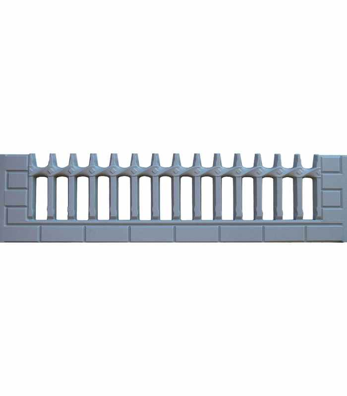 Форма для забора АБС №31 Размеры 2000х500х40 мм